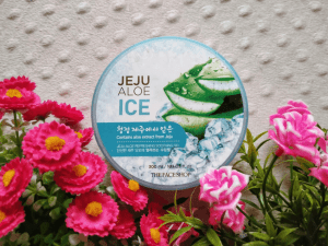 Face Shop's Jeju Aloe Ice Refreshing Soothing Gel