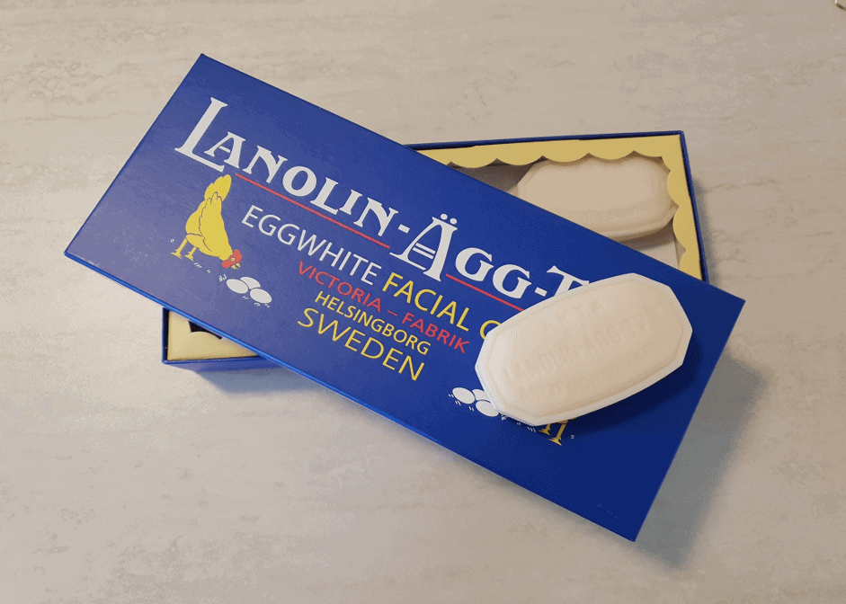Victoria Lanolin Agg-Tval Eggwhite unboxed