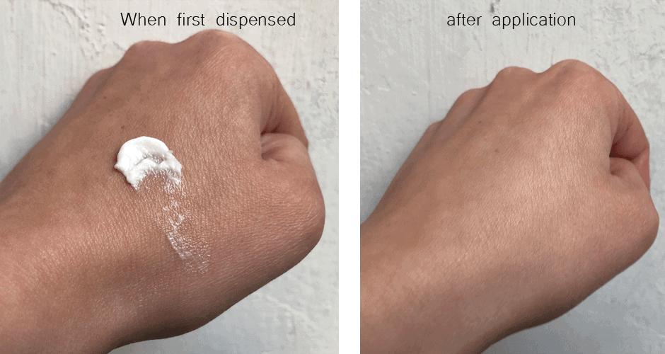 Aurelia Skincare Cell Revitalise Night Moisturiser application