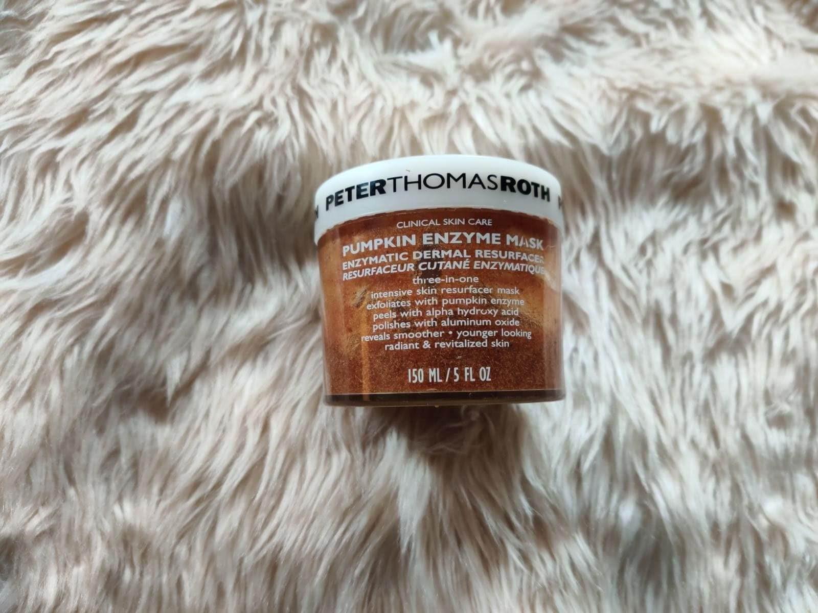 Peter Thomas Roth Pumpkin Enzyme Mask Enzymatic Dermal Resurfacer usage