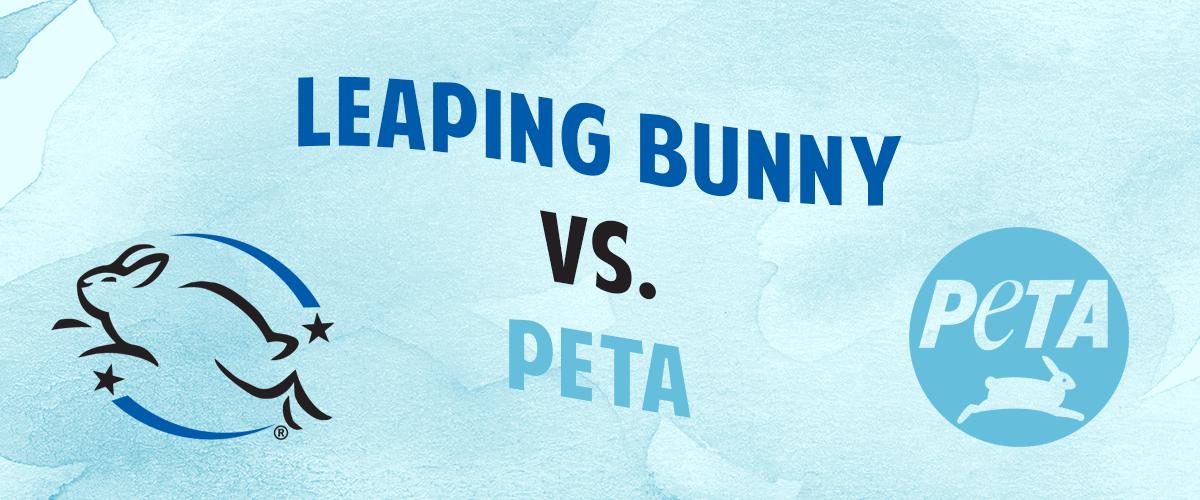 Leaping Bunny VS PETA