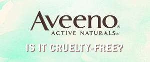 is Aveeno cruelty free